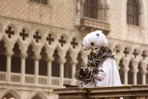 Carnival masks in Venice photo