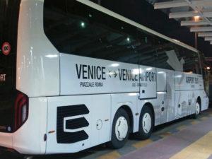 Добраться из аэропорта Марко Поло до Венеции на прямом автобусе ATVO