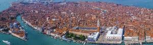 Достопримечательности Венеции с Высоты