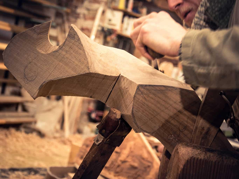 Как создают весла гондол в Венеции. Посещение мастерской