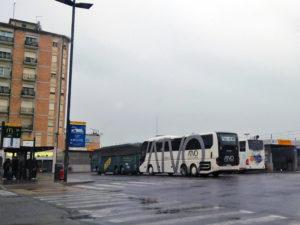 Конечная остановка автобуса ATVO аэропорт Венеции-Местре