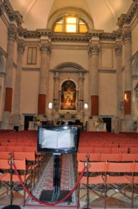 Концерты в Венеции-церковь Сан Видаль