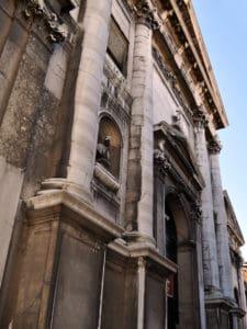 Концерты в Венеции-церковь Сан Видаль-фасад