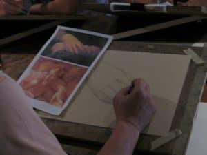 Мастер класс по классическому рисунку в венеции