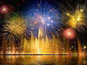 Праздник Новый Год в Венеции