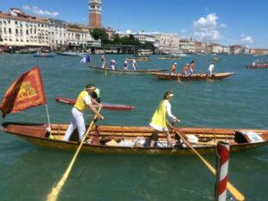 Праздники в Венеции - Вогалонга