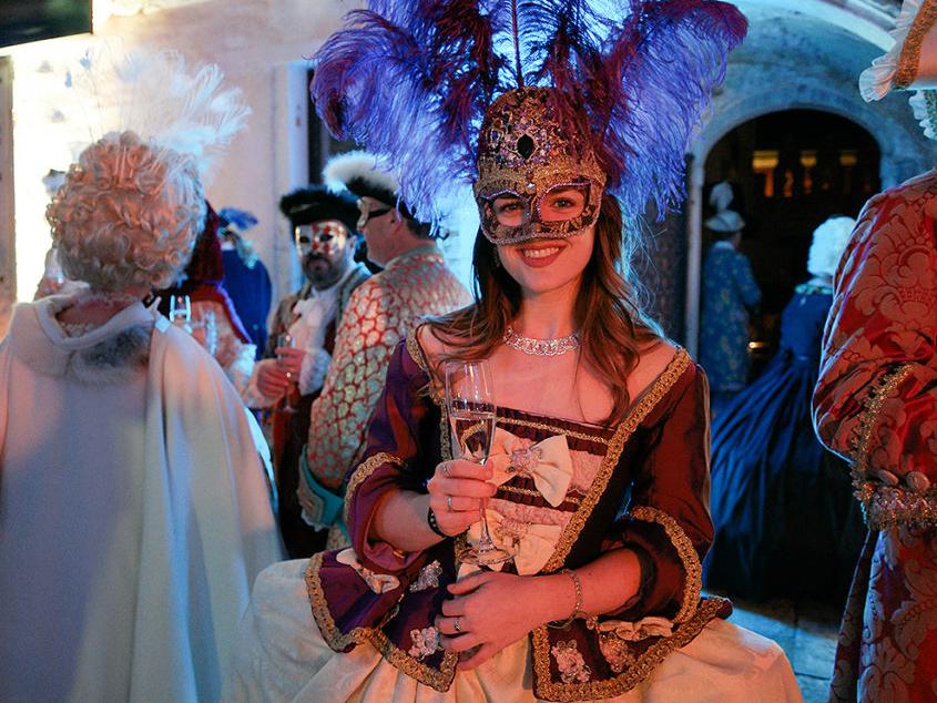 Венецианский карнавал. Бал Маскарад Волшебная ночь