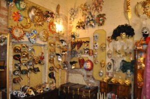Экскурсия в ателье масок и костюмов венецианского карнавала