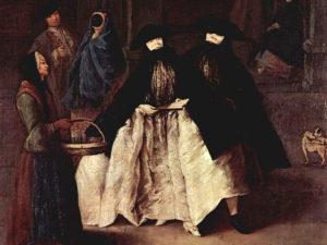 История венецианских масок - использование в старину