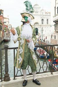 Мужской костюм венецианского карнавала