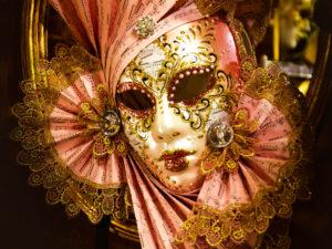 настоящая венецианская маска