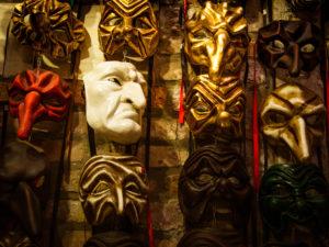 Венецианские маски комедии дель-арте