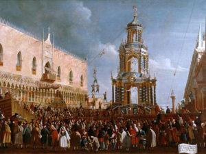 Венецианский карнавал. История. Картина - Жирный четверг