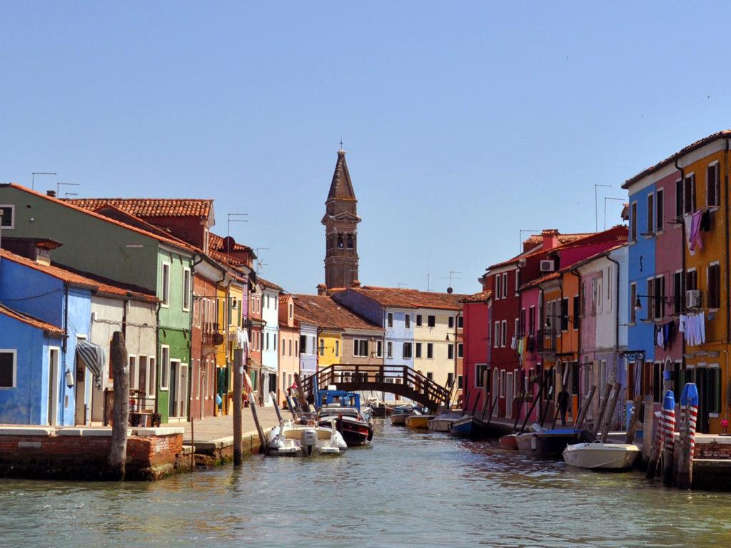 Венеция острова. Бурано