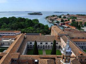 Венеция Сан Джорджо Маджоре. Вид с собора