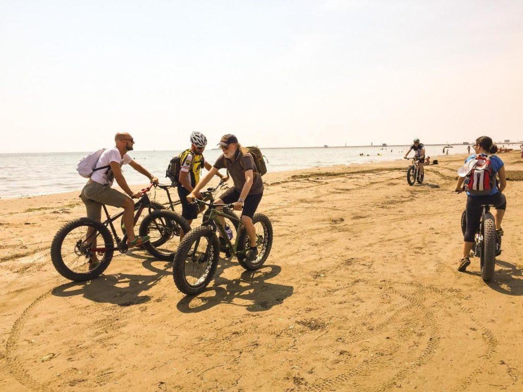 Tour al Lido di Venezia in Fat Bike