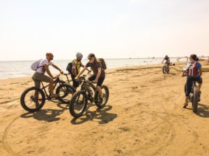 Tour al Lido di Venezia in Fat Bike