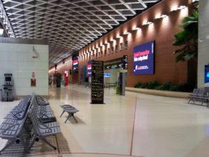 Венеция аэропорт Марко Поло. Второй этаж