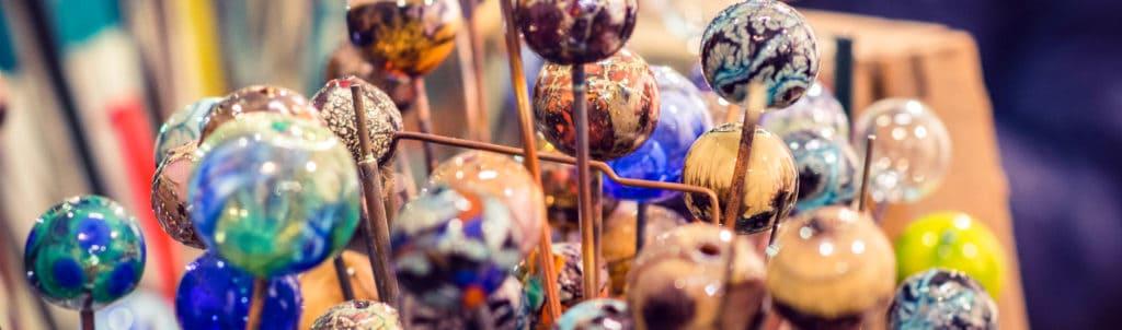 Бусины для изделий из муранского стекла