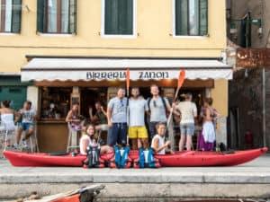 На каноэ по Венеции
