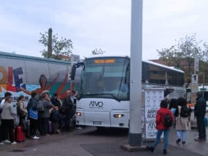 Из Венеции в аэропорт Тревизо на автобусе