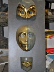 Что стоит посмотреть в Венеции - маски литейной мастерской