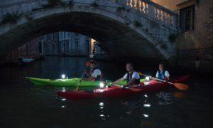 Каяк Венеция ночной тур