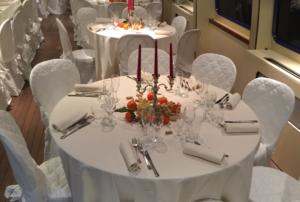Ужин в Новый год в Италии в Венеции на корабле