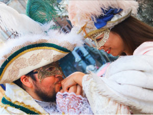 Венецианский карнавал. Фотосессия в Венеции