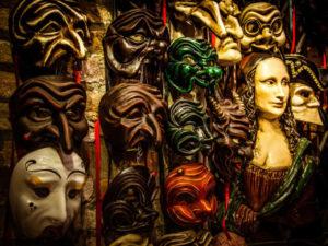 Карнавальные маски комедии дель-арте