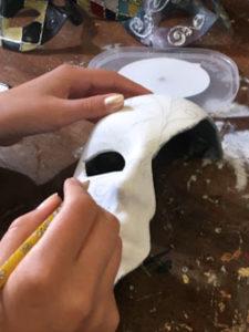 Создание, декор маски венецианской