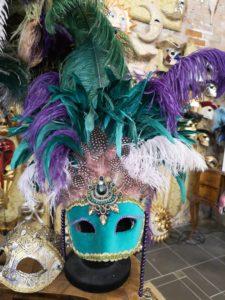 Ателье масок и костюмов венецианского карнавала в Венеции