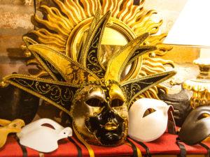 Оригинальная венецианская маска