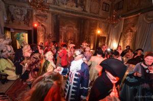 Карнавал бал в Венеции Куртизанки во Дворце
