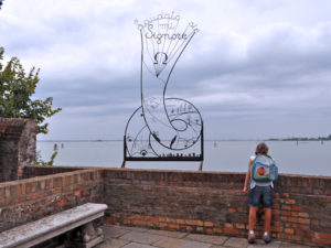 Остров Сан Франческо дель Дезерто. Вид на венецианскую лагуну