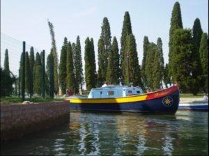 Транспорт на Венецианский остров Сан Франческо дель Дезерто