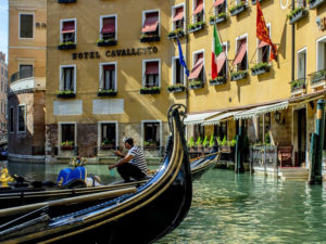 Отели Венеции в центре. Hotel Cavalletto